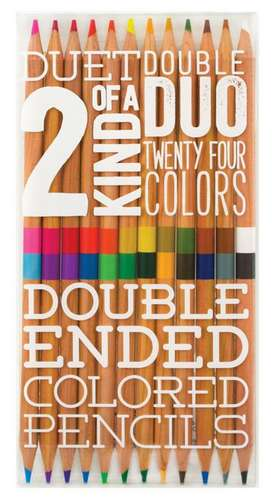 Creioane de colorat: Two of a Kind