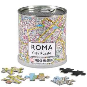 Rome City Puzzle Magnetic 100 Pieces, 26 x 35 cm
