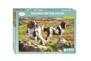 Spaniels on the Moor 1000 Piece Jigsaw