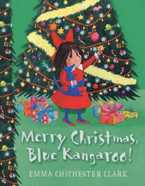 Merry Christmas, Blue Kangaroo!
