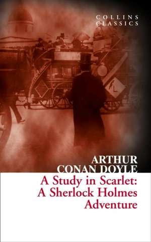 Conan Doyle, A: Study in Scarlet de Sir Arthur Conan Doyle