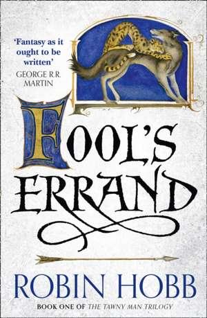 Fool's Errand de Robin Hobb