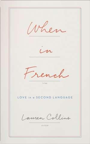 When in French de Lauren Collins