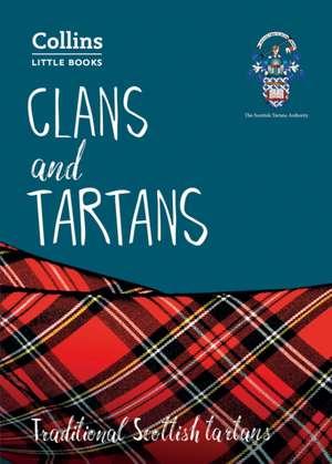 Clans and Tartans de Collins Maps