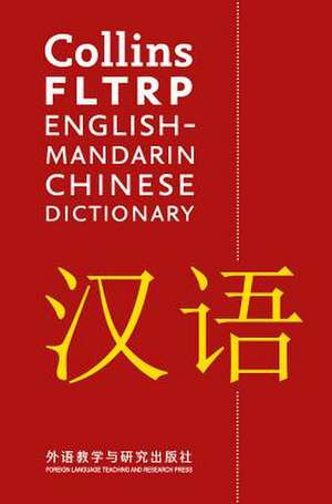 Collins FLTRP English-Mandarin Chinese Dictionary de  Collins Dictionaries