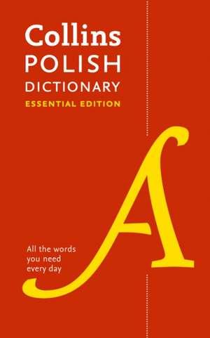 Collins Polish Essential Dictionary de  Collins Dictionaries