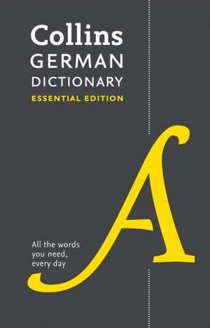 Collins German Essential Dictionary de  Collins Dictionaries