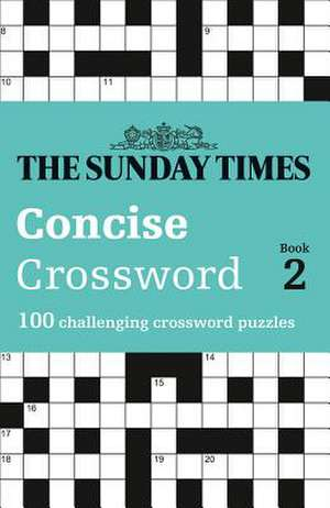 The Sunday Times Concise Crossword Book 2 de  The Times Mind Games