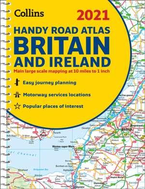 2021 Collins Handy Road Atlas Britain and Ireland de  Collins Maps