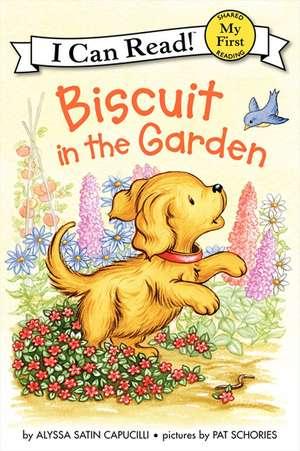 Biscuit in the Garden de Alyssa Satin Capucilli