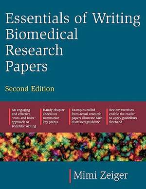 Essentials of Writing Biomedical Research Papers. Second Edition imagine