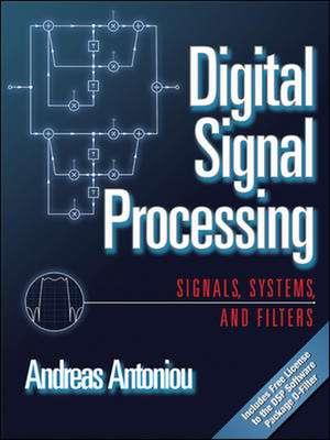 Digital Signal Processing de Andreas Antoniou