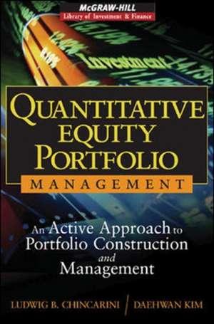 Quantitative Equity Portfolio Management de Ludwig Chincarini