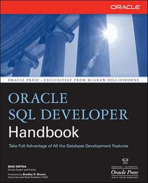 Oracle SQL Developer Handbook de Dan Hotka