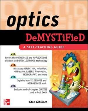 Optics Demystified de Stan Gibilisco
