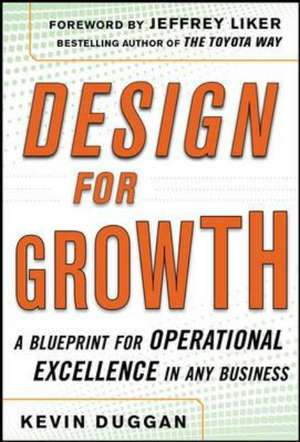 Design for Operational Excellence: A Breakthrough Strategy for Business Growth imagine
