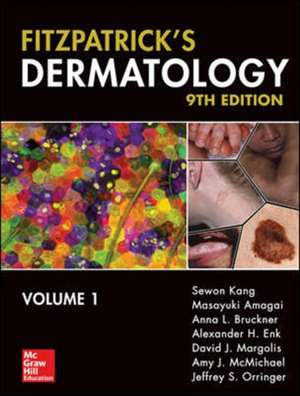Fitzpatrick's Dermatology, Ninth Edition, 2-Volume Set de Sewon Kang