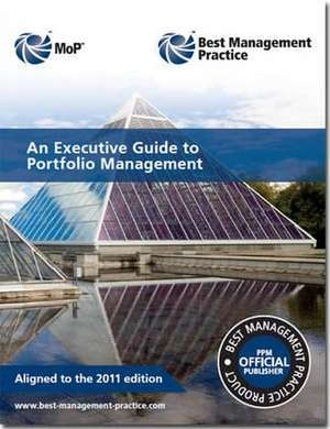 An executive guide to portfolio management de  Great Britain: Cabinet Office