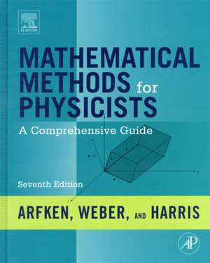 Mathematical Methods for Physicists imagine