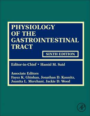 Physiology of the Gastrointestinal Tract