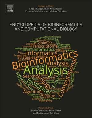 Encyclopedia of Bioinformatics and Computational Biology: ABC of Bioinformatics de Shoba Ranganathan