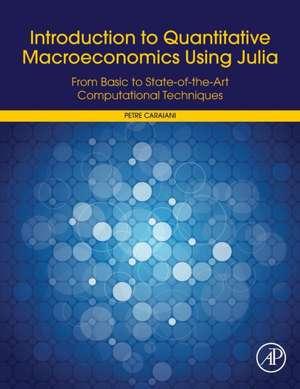 Introduction to Quantitative Macroeconomics Using Julia: From Basic to State-of-the-Art Computational Techniques de Petre Caraiani