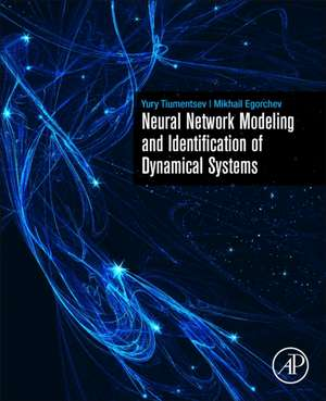 Neural Network Modeling and Identification of Dynamical Systems de Yury Tiumentsev