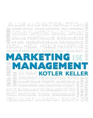 Marketing Management Plus Mymarketinglab with Pearson Etext -- Access Card Package de Philip Kotler