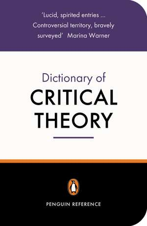 The Penguin Dictionary of Critical Theory imagine
