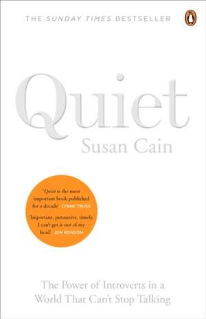 Quiet: The Power of Introverts in a World That Can't Stop Talking de Susan Cain