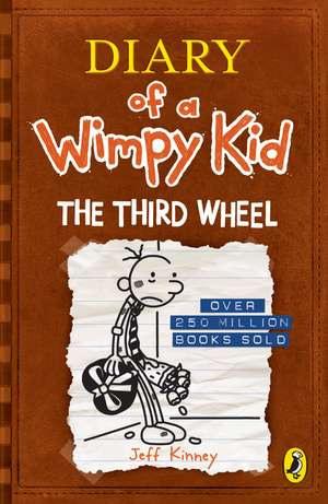 Diary of a Wimpy Kid: The Third Wheel (Book 7) de Jeff Kinney