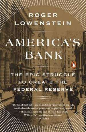 America's Bank de Roger Lowenstein