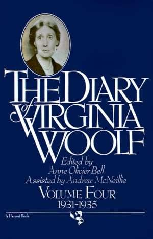 The Diary Of Virginia Woolf, Volume 4: 1931-1935 de Virginia Woolf