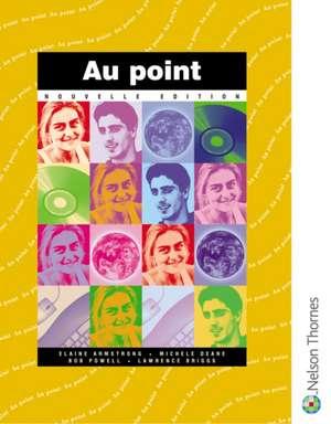 Au Point nouvelle edition Students' Book