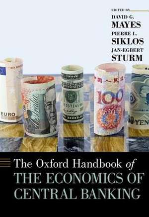 The Oxford Handbook of the Economics of Central Banking de David G. Mayes