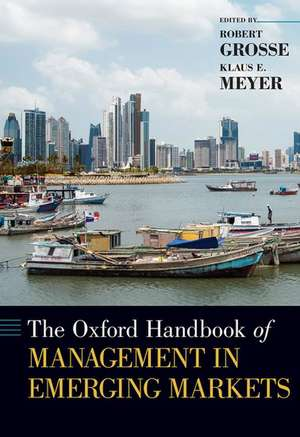 The Oxford Handbook of Management in Emerging Markets imagine