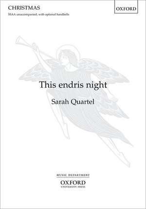 This endris night de Sarah Quartel
