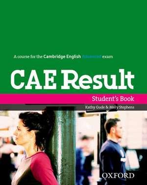 CAE Result:: Student's Book de Paul A. Davies