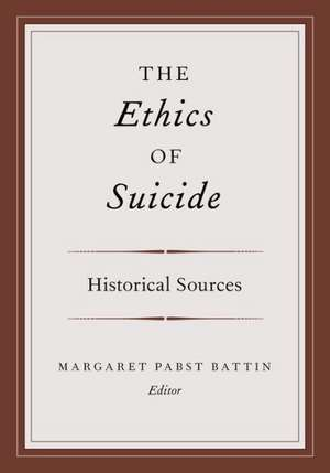 The Ethics of Suicide