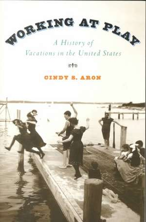 Working at Play: A History of Vacations in the United States de Cindy S. Aron