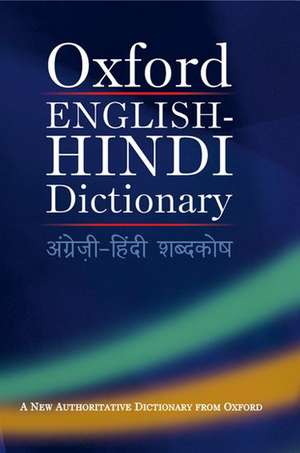 Oxford English-Hindi Dictionary de  Oxford Dictionaries