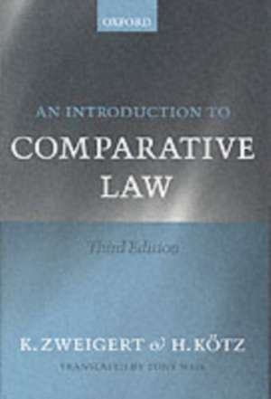 An Introduction to Comparative Law imagine