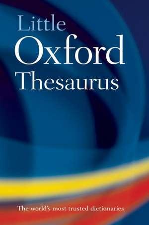 Little Oxford Thesaurus imagine