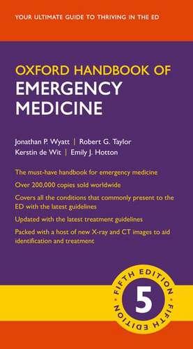 Oxford Handbook of Emergency Medicine de Jonathan P. Wyatt