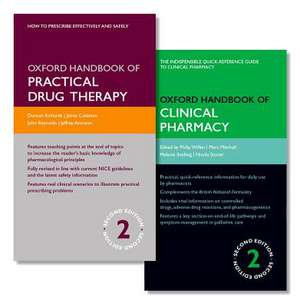 Oxford Handbook of Practical Drug Therapy and Oxford Handbook of Clinical Pharmacy Pack de Duncan Richards