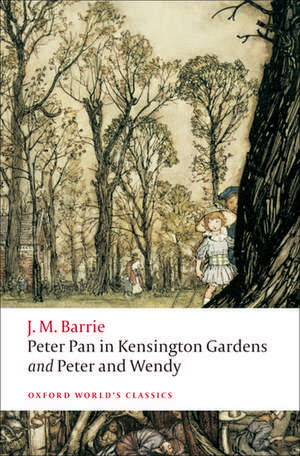 Peter Pan in Kensington Gardens / Peter and Wendy de J. M. Barrie