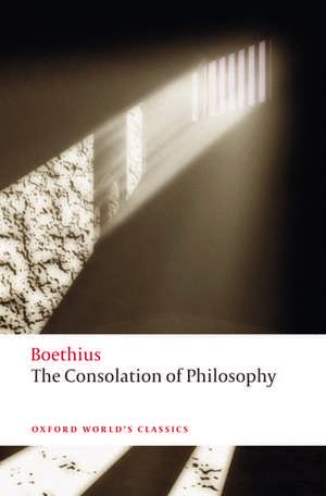 The Consolation of Philosophy de Boethius
