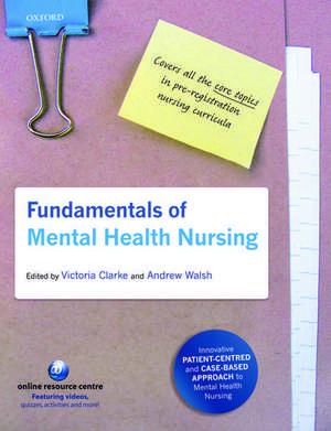 Fundamentals of Mental Health Nursing de Victoria Clarke