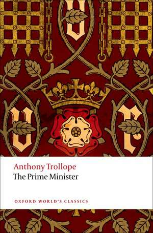 The Prime Minister de Anthony Trollope