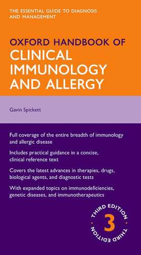 Oxford Handbook of Clinical Immunology and Allergy